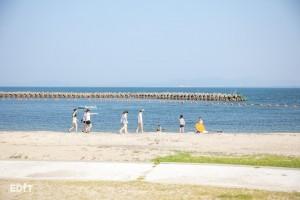これぞ、夏の日間賀島ですね